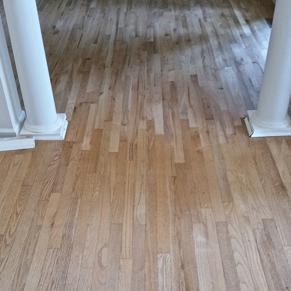 Hardwood floor repair by James Houston Woodworks installed in Greenville, SC