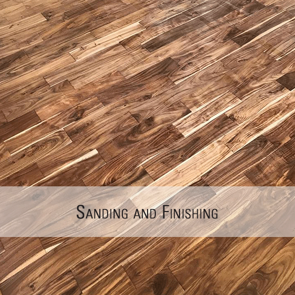 Hardwood Flooring Sanding and Finishing